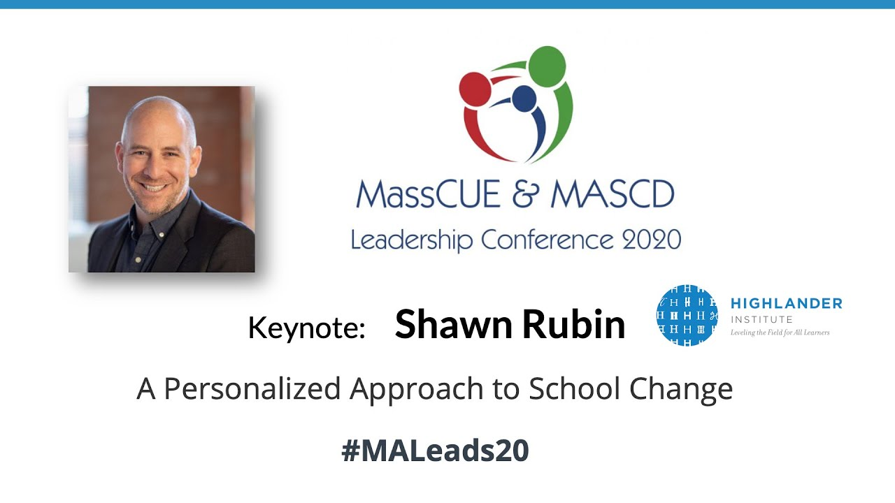 Spring Conference 2020 Keynote Shawn Rubin