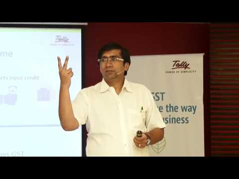 TALLY – Integration with regards to GST By Darshan Shah, Tally ERP Part 2/2