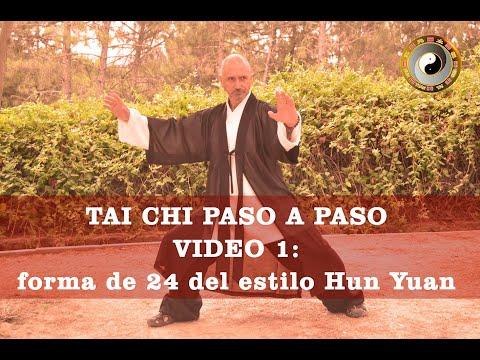 Hun Yuan Taiji Quan paso a paso: video 1