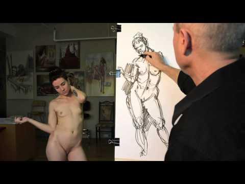 ヌードモデルのお仕事拝見。モデルの女の子は全裸でこんな仕事をしていた-おもしろメディアBOX動画・画像ニュースまとめ