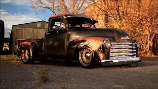 "1952 Slammed Patina Chevrolet 3100 Truck ""BULLGOD"" Www.TraditionalHotRod.com"