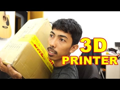 Unboxing 3D Printer Indonesia VLOG74
