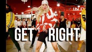 JENNIFER LOPEZ - GET RIGHT   Choreography by @NikaKljun