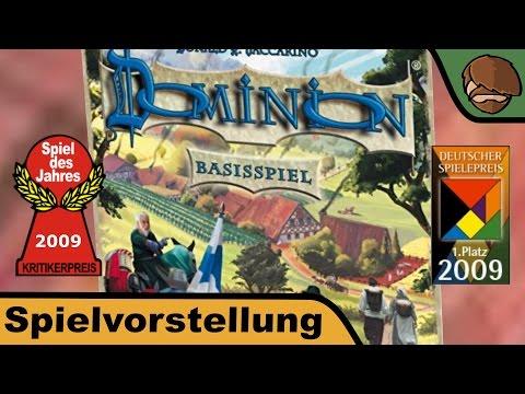 Dominion - Basisspiel (Spiel des Jahres 2009) - Brettspiel - Anleitung