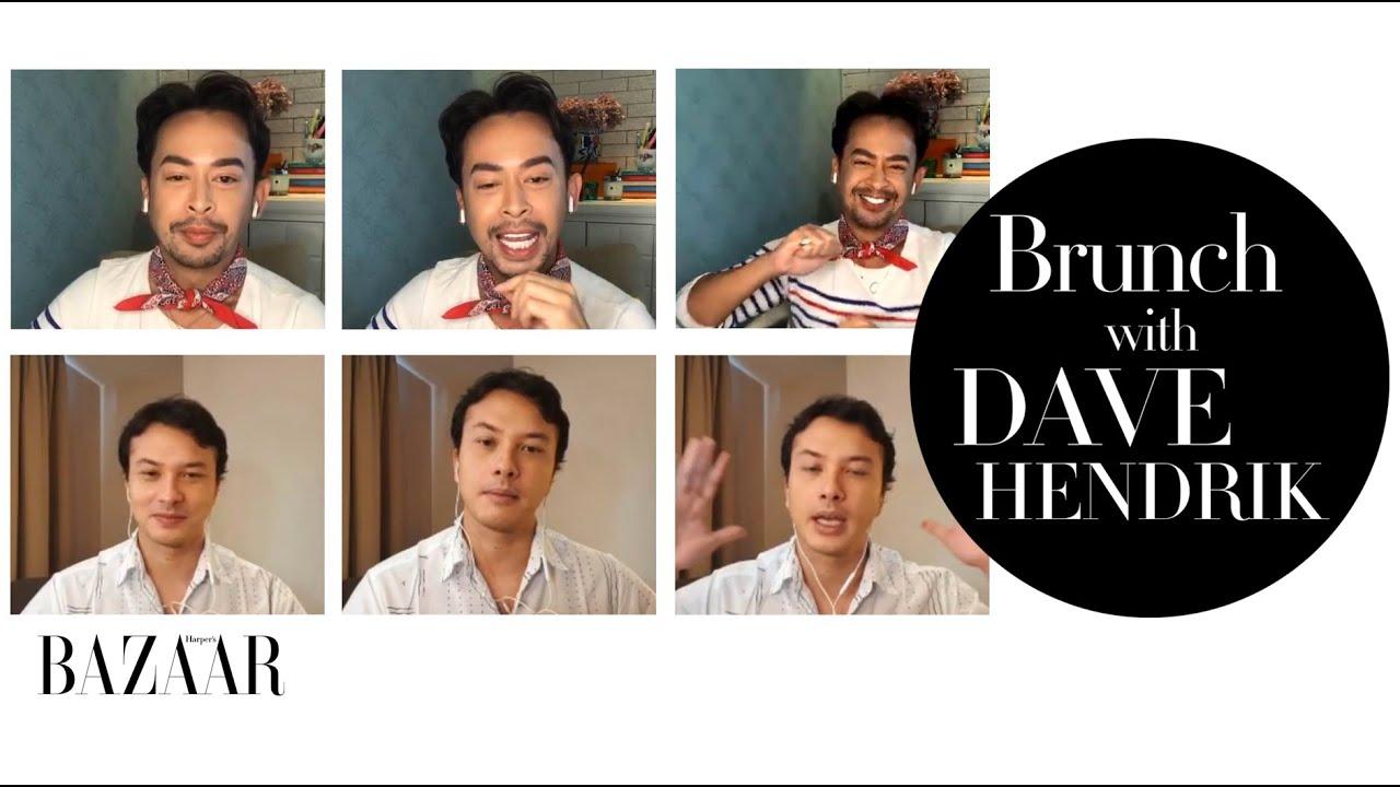 Brunch With Dave Hendrik Bersama Nicholas Saputra Menjawab Beragam Pertanyaan Unik dari Pembaca Bazaar