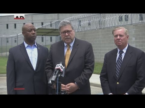Attorney General William Barr was in South Carolina where he visited a prison and spoke about the census and a citizenship question, Bob Mueller testifying before Congress. (July 8)