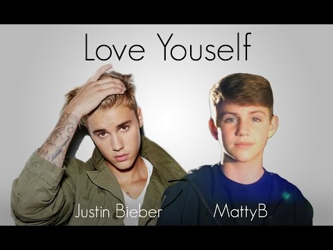 Download Justin Bieber Love Yourself Mattybraps Cover Lyrics