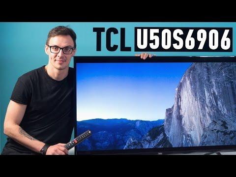 TCL U50S6906: 4К ДЛЯ ЭКОНОМНЫХ