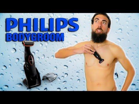 PHILIPS BODYGROOM series 3000 afeitadora corporal apta para la ducha 🚿.