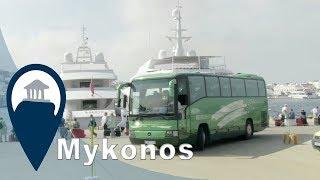 Mykonos | Bussing around the beach