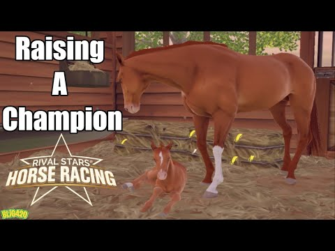 Rival Stars Horse Racing. Raising A Champion, Breeding The Best!