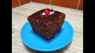 بسبوسة شوكولاطة سريعة خفيفة و بنينة بزاف