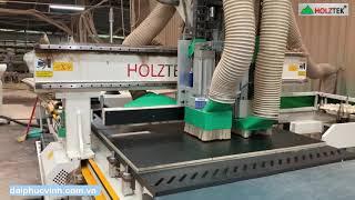 Máy cnc Nesting trung tâm PRO-R1V9F cắt chi tiết bọc Sofa