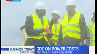 Geothermal Development Corporation GDC builds a 105 megawatt power plant