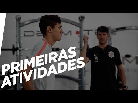 Mateus Vital e as primeiras atividades no Corinthians!