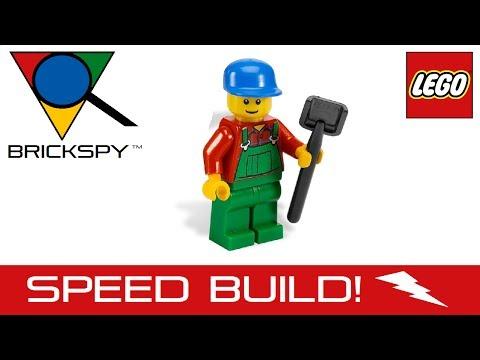 Vidéo LEGO City 7634 : Le tracteur