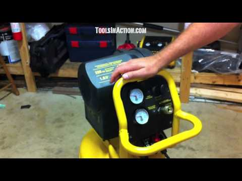 DeWALT D55168 200 PSI, 15 Gallon Workshop Compressor – Review