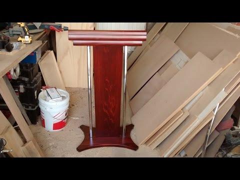 Como hacer una tribuna (atril, podium, púlpito)