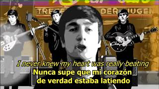 Where have you been all my life - The Beatles (LYRICS/LETRA)