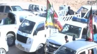 preview picture of video 'مسجد وحسينية اهل البيت ع /خانقين 26 محرم 1436 هـ توزيع الخيرات على القوات الامنية1'
