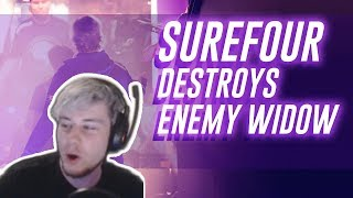 Surefour DESTROYS Enemy widow & tells him to go play fortnite | Surefour Highlights #50