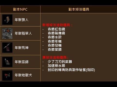 《天堂M》年獸系列怪物NPC可取得春節活動道具獎勵內容及討伐任務獎勵! [Lineage M]
