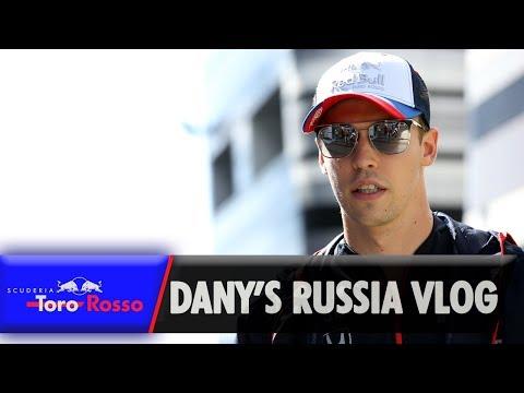 Daniil Kvyat's Russian Grand Prix Vlog