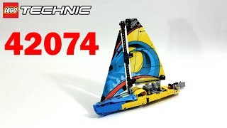 Лего Техник 42074 Гоночная Яхта – Обзор / Lego Technic 42074 Racing Yacht - Review