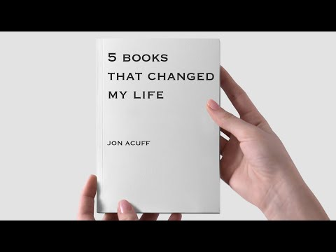 5 books that changed my life.