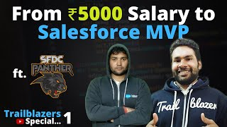 From ₹5000 Salary to Salesforce MVP - Journey of a Small Village Boy