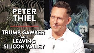 Peter Thiel on Trump, Gawker, and Leaving Silicon Valley (Full Interview)