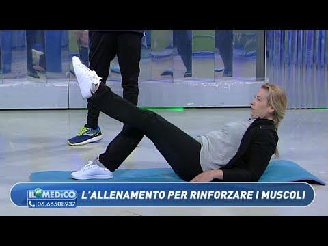 Una serie di esercizi per i muscoli del collo e della colonna vertebrale toracica