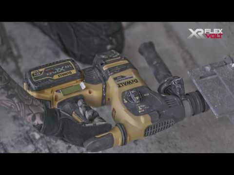 DeWALT FlexVolt DCH333X2-QW accu combihamer machine