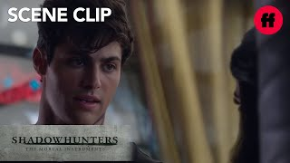 Shadowhunters | Season 1, Episode 6: Alec & Izzy Talk Marriage