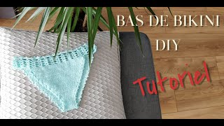 BAS DE BIKINI EN CROCHET TUTORIEL I Tracy M. Crochet