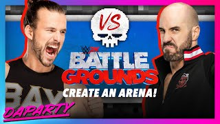 Create-An-Arena Details and Video for WWE 2K Battlegrounds! (Battleground Creator)