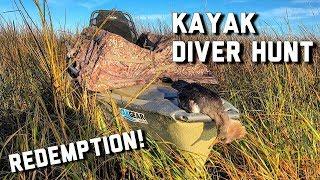 Kayak Duck Hunting   Public Land Diver Hunt   Alabama Duck Hunting