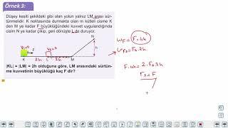Eğitim Vadisi AYT Fizik 3.Föy Enerji ve Hareket 1 Konu Anlatım Videoları