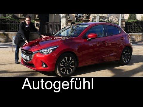 All-new Mazda2 2015/2016 test drive REVIEW Sportsline Neuer Mazda2 - Autogefühl