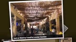 preview picture of video 'Descente  Lizardom's photos around Midelt, Morocco (auberge jaafar kasbah itto midelt maroc)'
