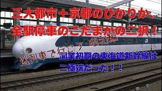 【迷列車で行こう 昭和編2】東海道新幹線開業当初の種別は極端すぎて、凄い