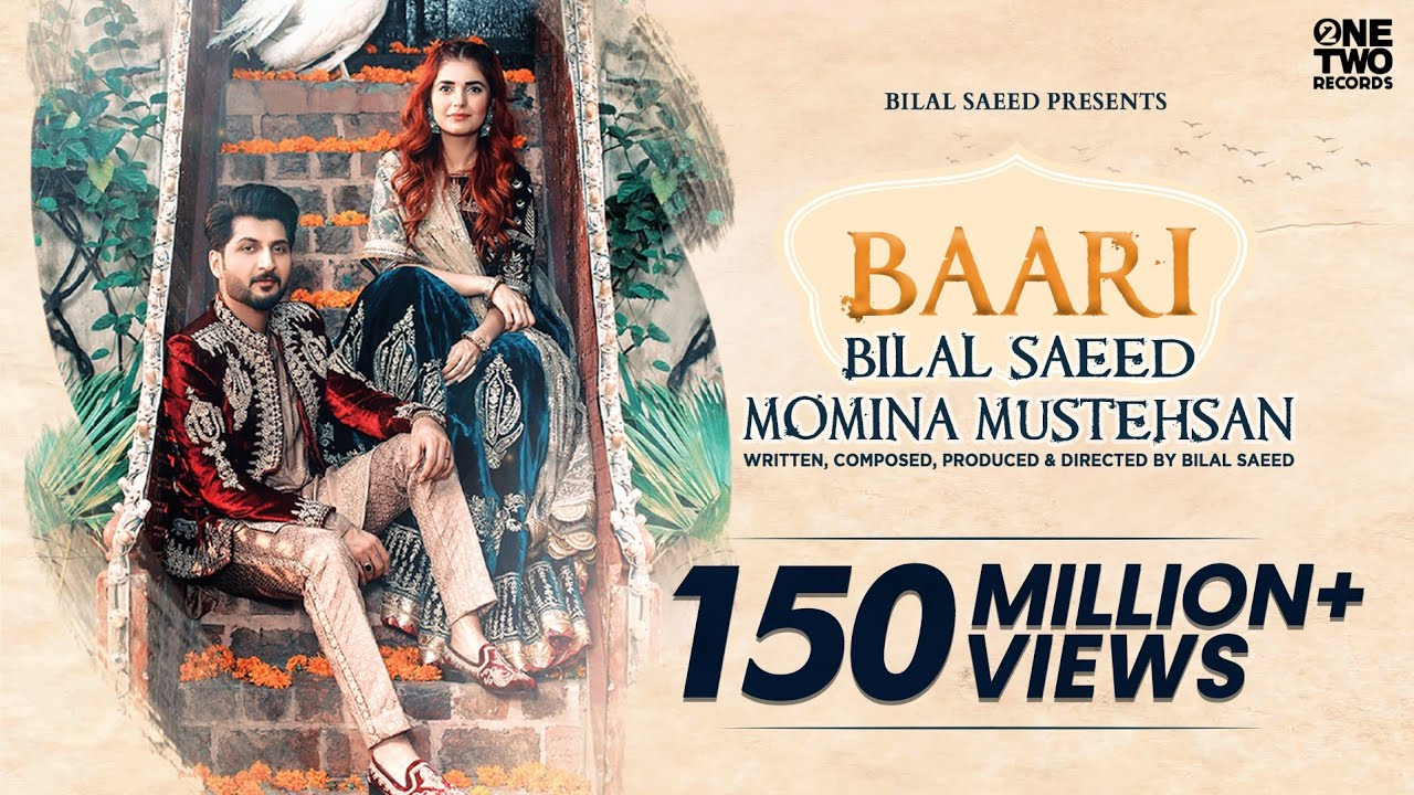 Baari Lyrics - Bilal Saeed & Momina Mustehsan | Popular Punjabi Song