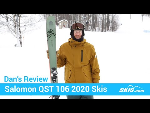 Video: Salomon QST 106 Skis 2020 5 40