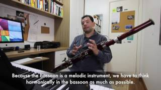 """Jazz Lessons for Bassoonists: """"Autumn Leaves"""""""