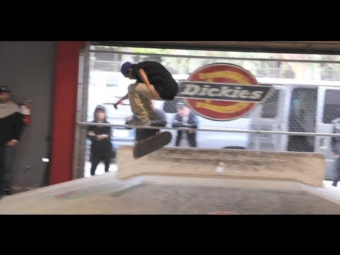 Jim Greco, Vincent Alvarez, and Dickies Team demo at Skate Lab