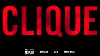 Kanye West ft. Big Sean & Jay Z - Clique (Lyrics in description)