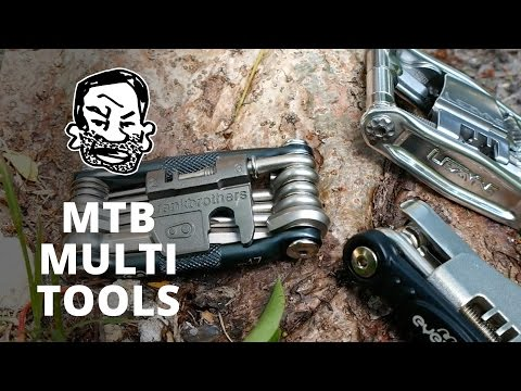 Multi tools for mountain biking