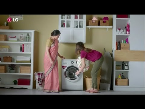 LG Front Loading Washing Machine for MOTHERLY WASH