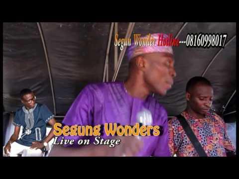 Segun wonder live on stage