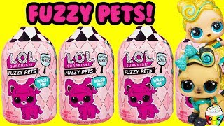 LOL Fuzzy Pets Lucky Luxe Pony Finds More LOL LILS Cupcake Kids Club